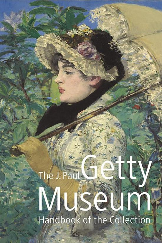 盖蒂博物馆手册封面。图片来源www.getty.edu
