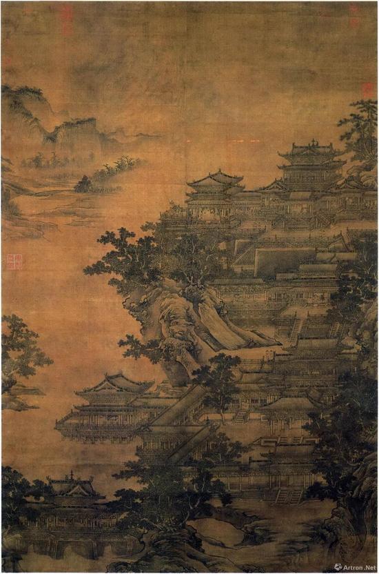 ● 元李容瑾《汉苑图》