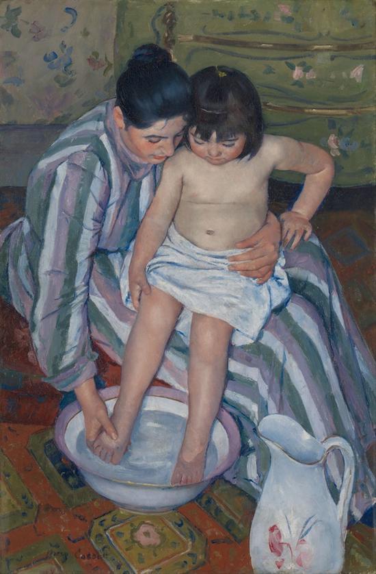 《洗浴》,1893