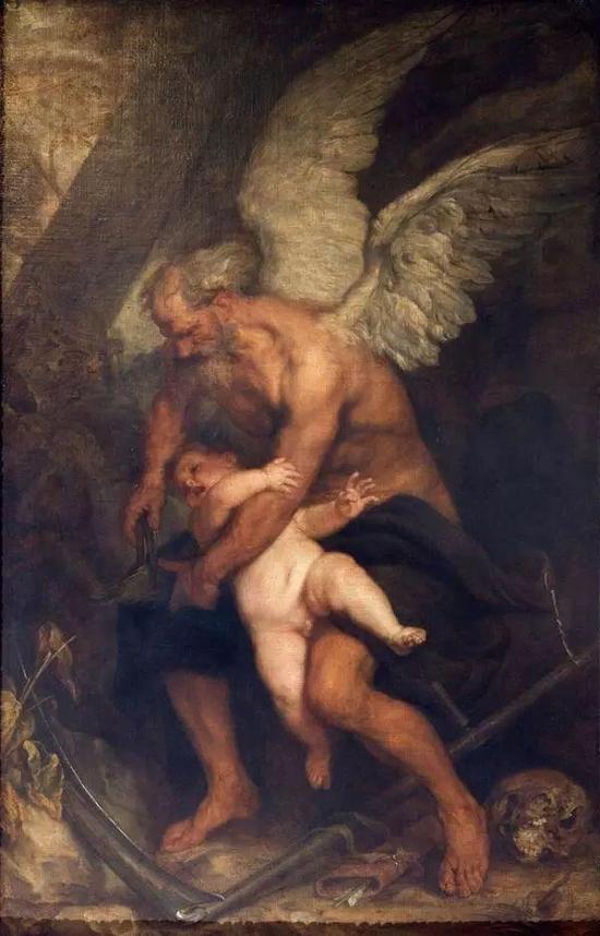 Jean SaurienChronoscoupant les ailes de Cupidon