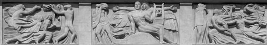 布德尔浮雕《奔向阿波罗》