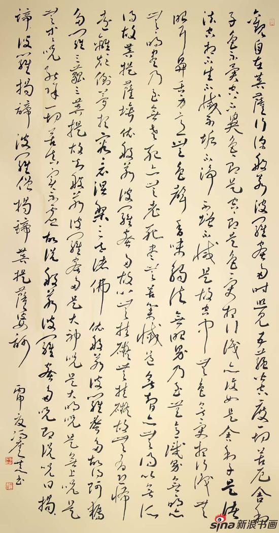 冯奎作品-观自在-180x96cm