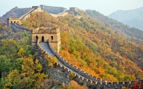 英特尔与中国文物保护基金会长城举行合作仪式