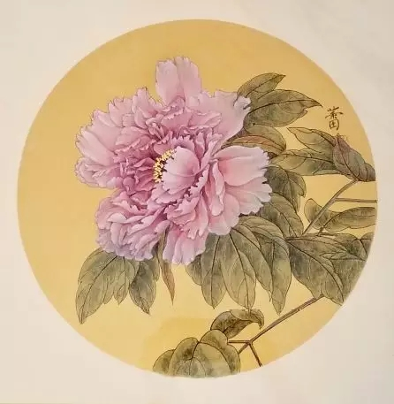 《天香国韵》 66cm×66cm