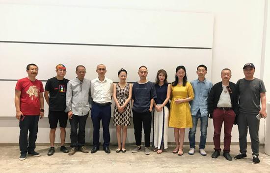 时间之域-高煜、陈联庆、何云昌、汪化作品联展在共同艺术中心开幕