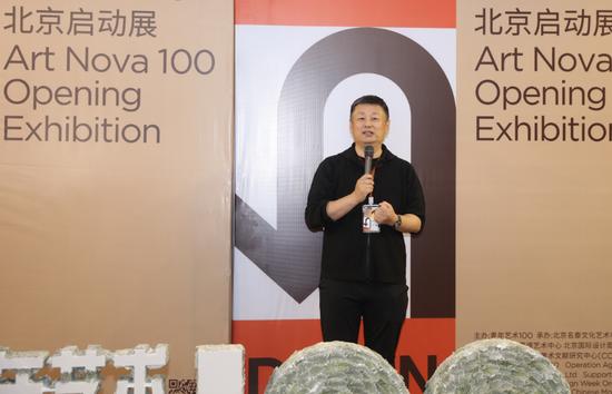 """""""青年艺术100""""创始人赵力"""