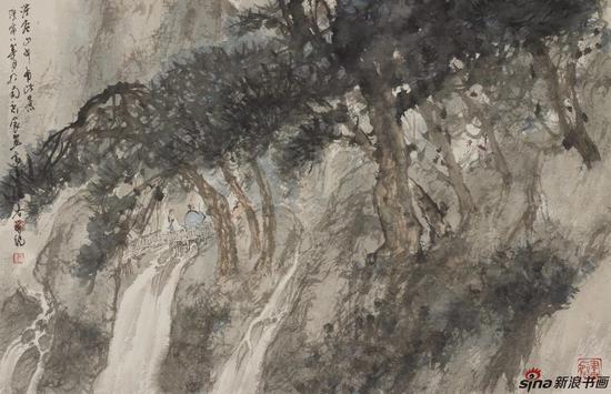 《洪谷山中有此景》2010