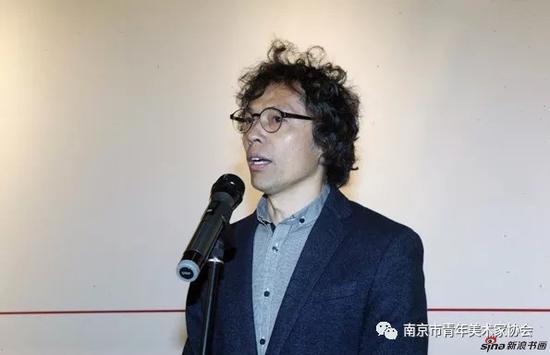 江苏省美术家协会副主席、南京大学艺术学院陆庆龙副教授致辞