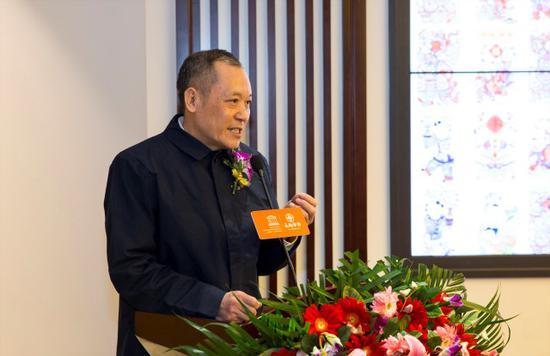 中国非遗保护协会马文辉会长致辞