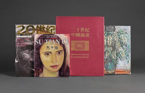 《秋云》收录于《二十世纪中国油画Ⅱ-1》等多本画集