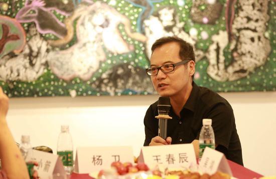 王春辰,中央美院教授批评家策展人