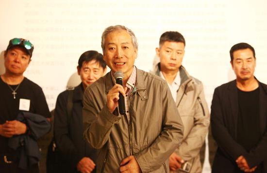 北京政协副秘书长、民盟北京市委副主委、北京设计协会创始人宋慰祖致辞
