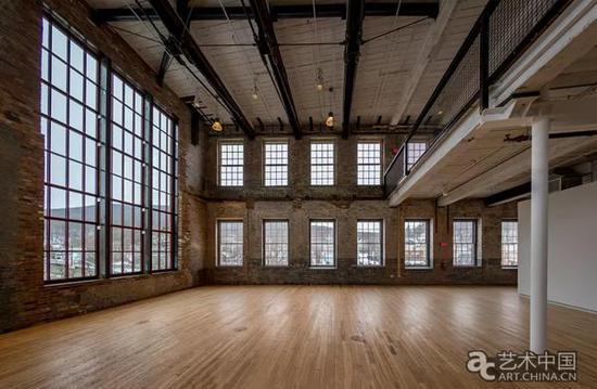 马萨诸塞州当代艺术博物馆内部空间