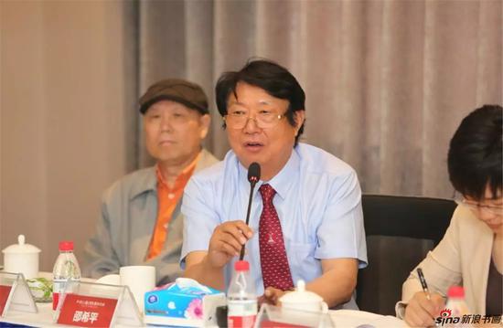 南京市书法家协会顾问邵希平发言