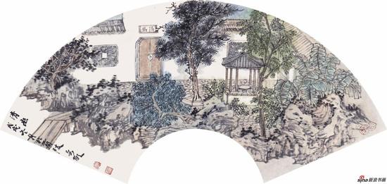 清幽 30cm×60cm 2018