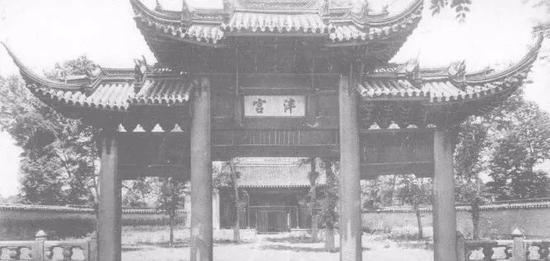 """苏州府学旧址大门""""泮宫""""牌楼"""
