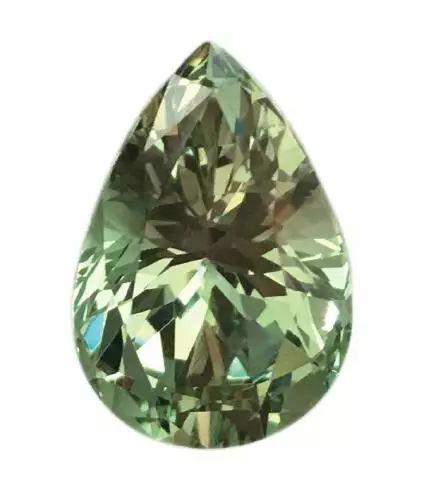 绿色石榴石戒面