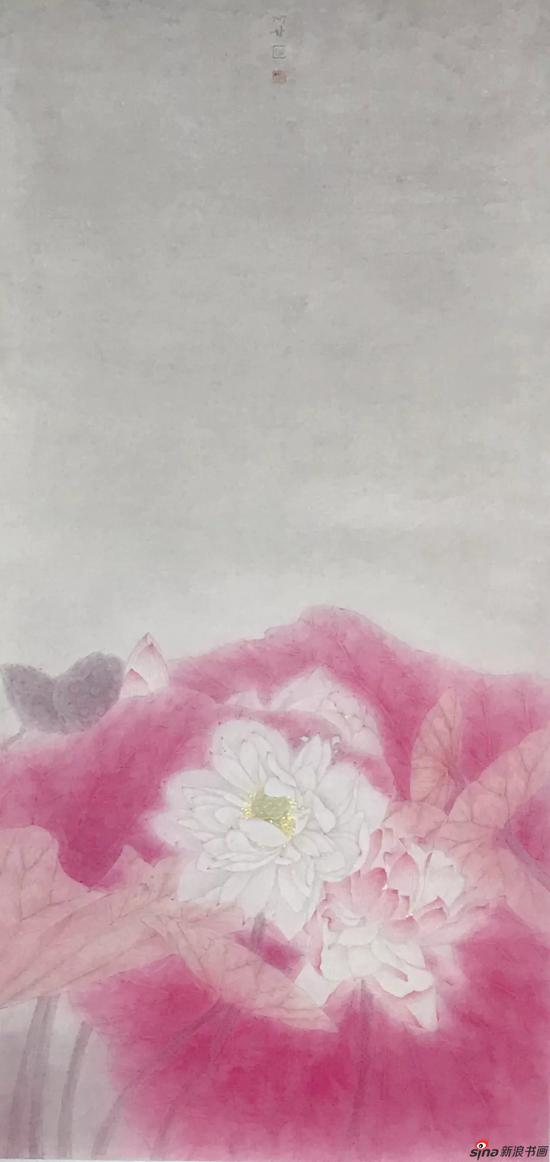 甘永川 《红裳翠珮系列之二》 46x95cm