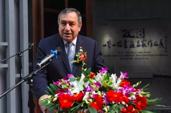 阿拉伯埃及共和国前总理伊萨姆·沙拉夫先生致贺词