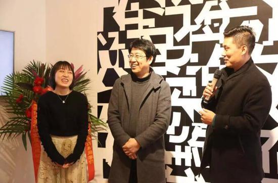 北京印刷学院设计艺术学院党委副书记史河副教授致辞