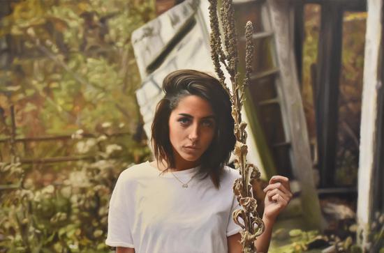 Kendall 布面油画 Oil on canvas 91x137cm 2017