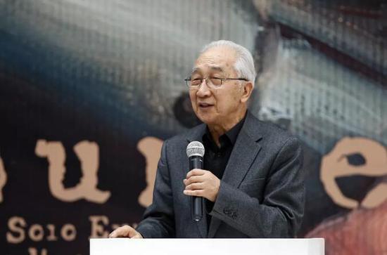 中国美术家协会名誉主席靳尚谊开幕式致辞