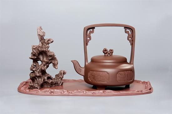 《中华文明·明·江南园林》艺术家谢强作品