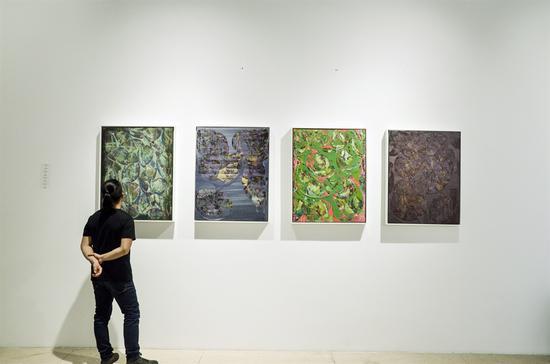 《之外系列 》江巍 布面丙烯油彩 90cmX70cm