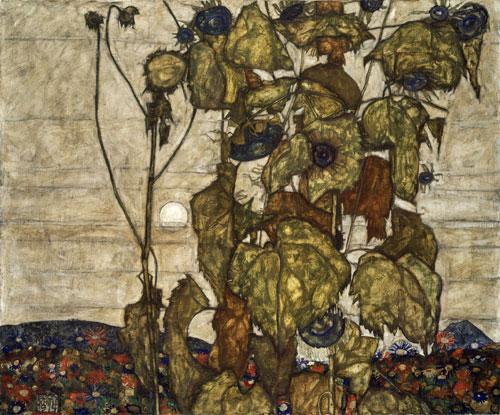 席勒《枯萎的向日葵》(米尔坎藏)