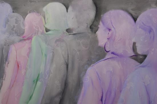 默·6 张子叶 100x150cm 2018年 布面油画