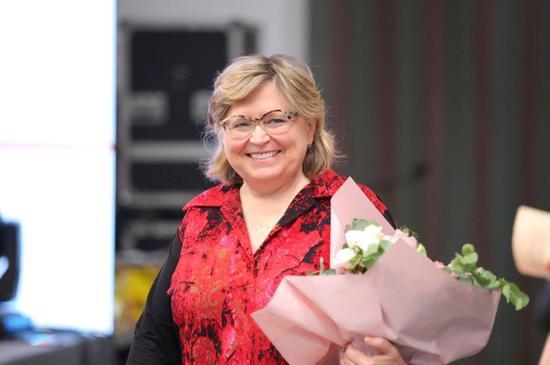 世界艺术教育联盟主席、加拿大UBC大学教授 Rita博士