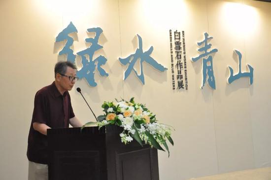 北京职工文学创作室主任、北京老舍研究会副秘书长杜芳伦