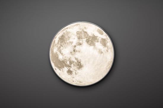 新款月球壁灯首发