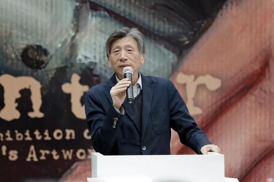 中国美协主席、中央美院院长范迪安开幕式致辞
