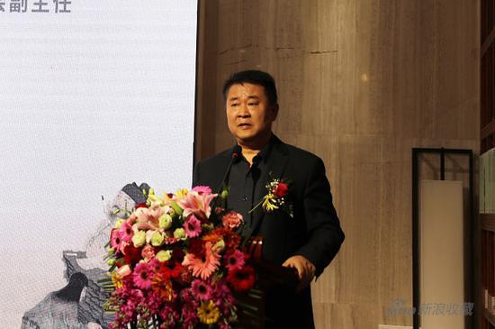 陈加林师长教员致辞   贵州省文联党构成员、副主席,中国书法家协会草书委员会副主任