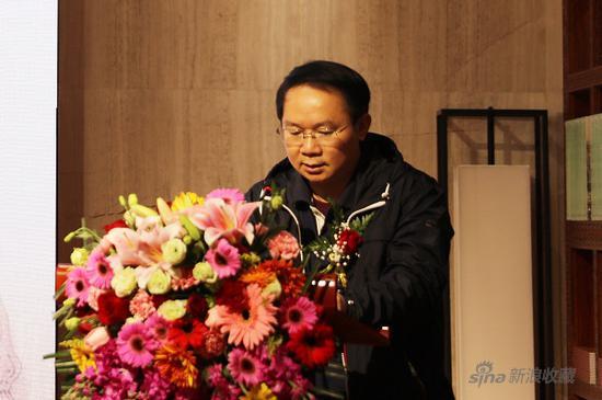 黄仁龙师长教员致辞   贵州省黔南州书法家协会主席