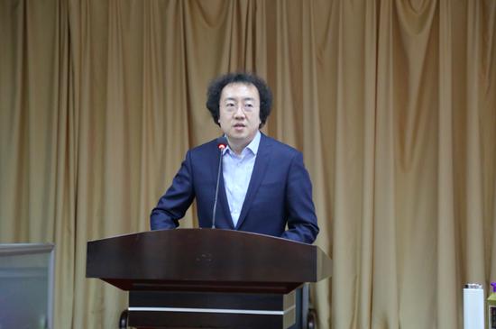 天津著名书法家李淼老师应邀为廊坊师范学院讲学