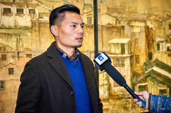 艺术家姚冬青师长教员接收媒体专访