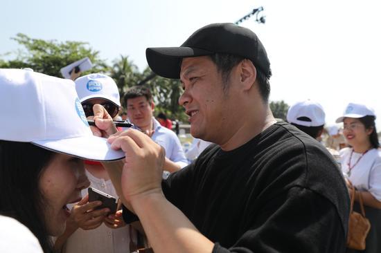 著名导演、坏猴子影业艺术总监 宁浩与观众现场互动
