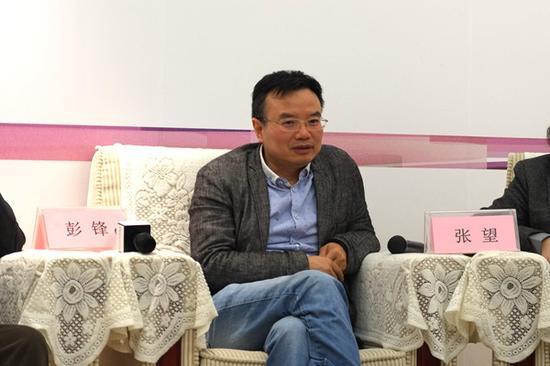 批评家、北京大学艺术学院副院长彭锋发言