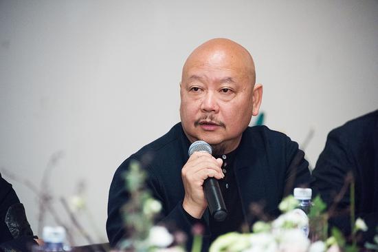 湖南省美协副主席段江华在研讨会上发言