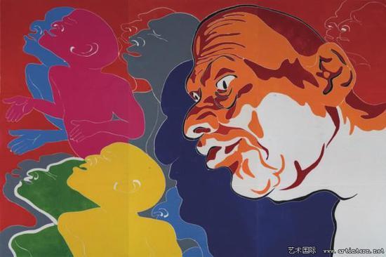 中国当代艺术曾经充满活力的生命正处于可怜的衰竭之中