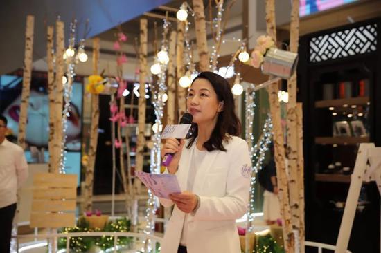 厦门时代空间文化传媒有限公司总经理 刘芸 开幕式发言