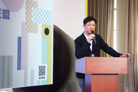 艺术北京总监董梦阳为青年设计师联盟成立致辞