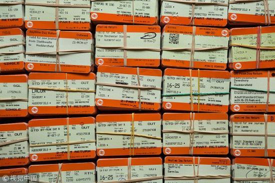 19岁打破世界纪录:收藏8.7万张火车票