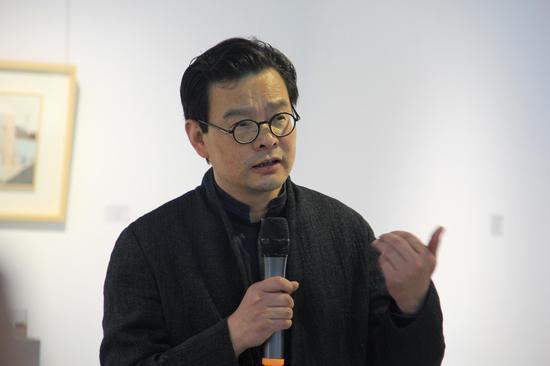 北京国际设计周组委会副主任  策划总监 曾辉 开幕主持