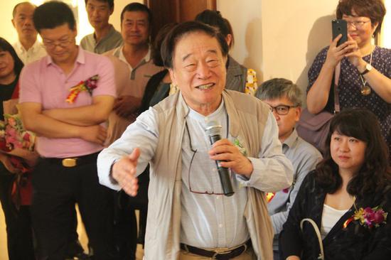 北京摄影艺术协会主席朱宪民先生致辞