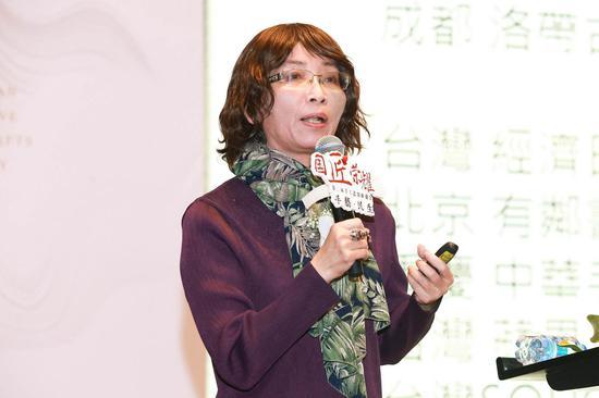 张庭庭 台湾人文品牌大师 台湾甦活(SOHO)创意管理顾问公司总经理