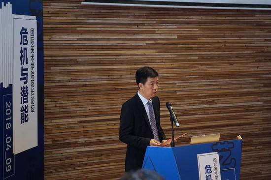 浙江省教育厅副厅长于永明致辞