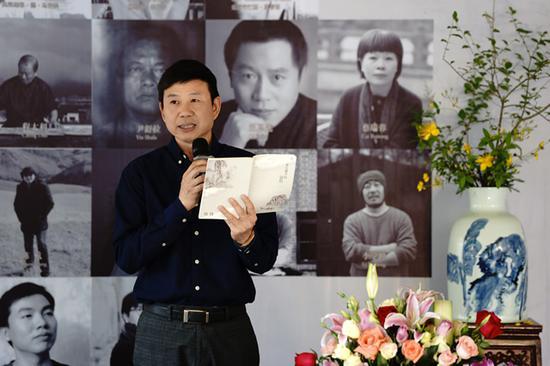 温州市文化广电新闻出版局副局长柳升高致词